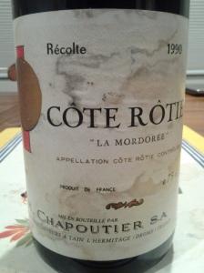 Chapoutier Rotie Mordoree 1990