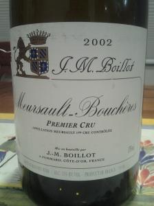 J.M. Boillot Meursault Boucheres 2002 #2