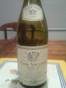 Jadot Clos Vougeot 1997 #1