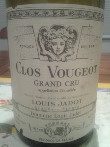 Jadot Clos Vougeot 1997