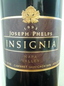 Joseph Phelps Insignia 1993 #1