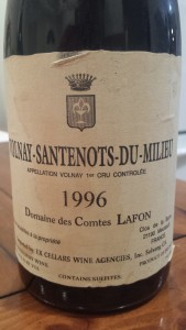 Lafon Volnay Millieu 1996