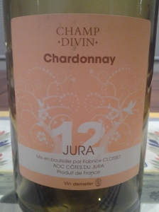 Champ Divin Chardonnay 2012 #1
