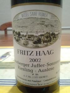 Fritz Haag Auslese #6 2002 #2