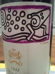 Mouton Rothschild 1988 #1
