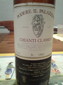 Podere il Palazzino Chianti Classico Riserva 1983