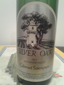 Silver Oak Alexander Valley 1983