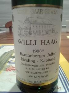 Willi Haag Kabinett 1998