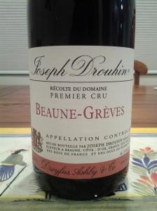 Drouhin Beaune Greves 1993