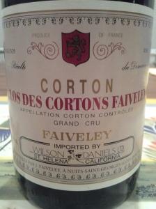 Faiveley Clos des Cortons 2005