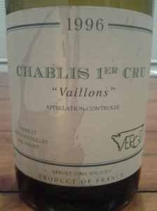 Verget Chablis Vaillons 1996