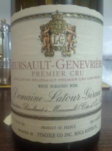 Latour-Giraud Meursault Genevieres 2007 #1