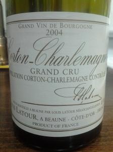 Louis Latour Corton Charlemagne 2004 #1