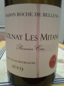 Roche de Bellene Volnay Mitans 2009