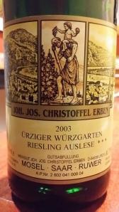 Christoffel Urziger Wurzgarten 2003 #1