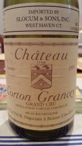 Louis Latour Corton Grancey 1995 #3