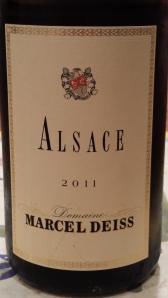Marcel Diess Alsace Blanc 2011 #1