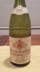 G. Mugneret Nuits Boudots 1998 #1