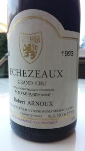 Arnoux Echezeaux 1993