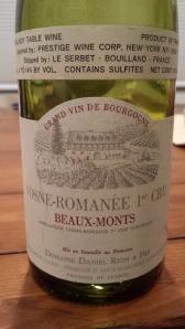 D. Rion Vosne Beaux Monts 1990