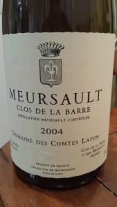 Lafon Meursault Barre 2004 #3