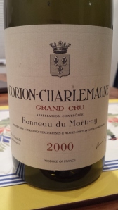 Martray Corton Charlemagne 2000 #1