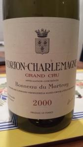 Martray Corton Charlemagne 2000 #1