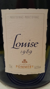 Pommery Louise 1989