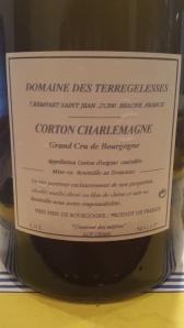Terregelesses Corton Charlemagne 2004 #1