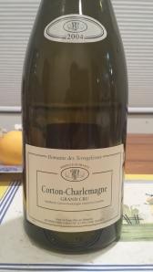 Terregelesses Corton Charlemagne 2004