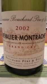 Bouchard Chevalier Montrachet #1