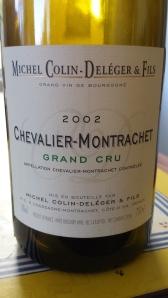 Colin-Deleger Chevalier Montrachet 2002 #2