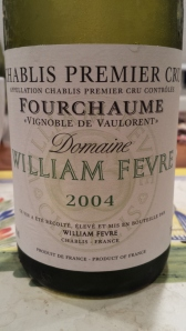 Fevre Fourchaume Valourent 2004