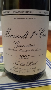 Potel Meursault Genevrieres 2005