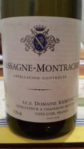 Ramonet Chassagne Montrachet 2012
