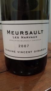 Girardin Meursault Narvaux 2007