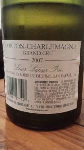 Louis Latour Corton Charlemagne 2007