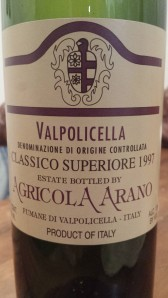 Arano Valpi 1997 #1