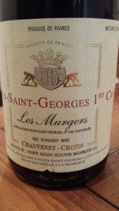 Chauvenet-Chopin Nuits Murgers 1999