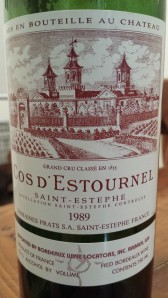Cos D'Estournel 1989