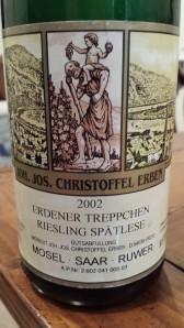 J.J. Christoffel Erdener Treppechen Spatlese 2002