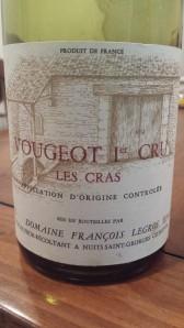 Legros Vougeot Cras 1989 #1