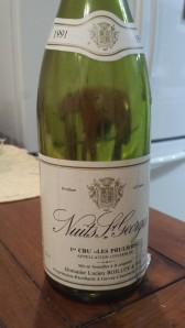 Lucien Boillot Nuits Pruliers 1991 #1