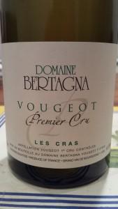 Bertagna Vougeot Cras 2011