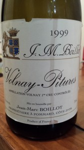 J.M. Boillot Volnay Pitures 1999
