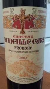 La Vielle Cure 2003
