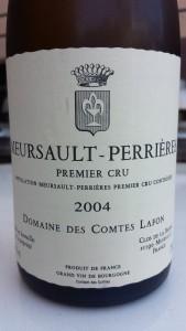 Lafon Meursault Perrieres 2004 #1