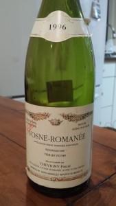 Pascal Chevigny Vosne Romanee 1996 #1
