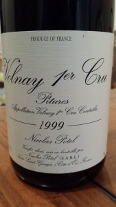 Potel Volnay Pitures 1999