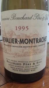 Bouchard Chevalier Montrachet 1995 #1